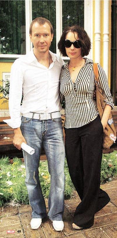 миронов евгений фото с женой