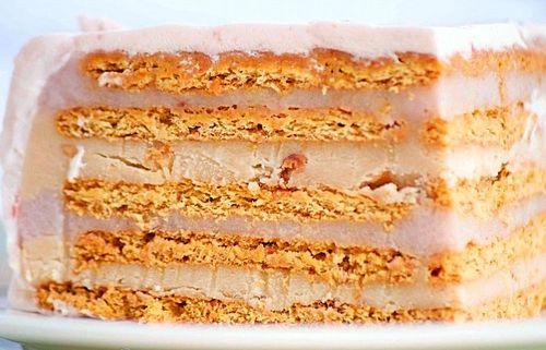 как приготовить торт из готового печенья