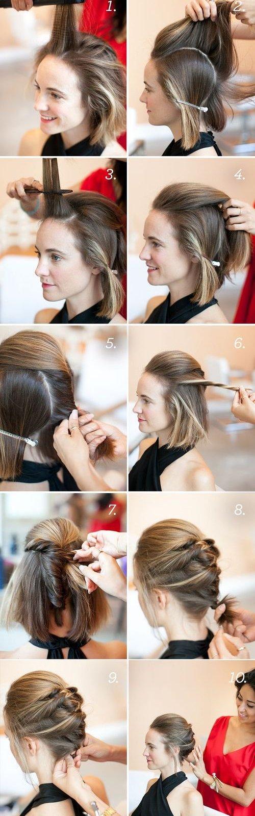 Греческая коса на длинные волосы пошаговая
