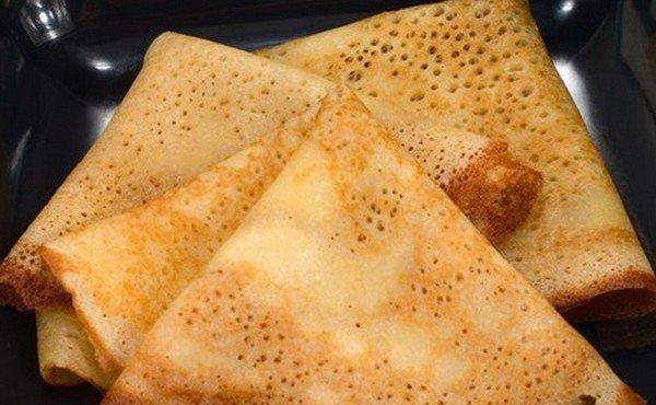 Рецепт вкусных дрожжевых блинов с фото