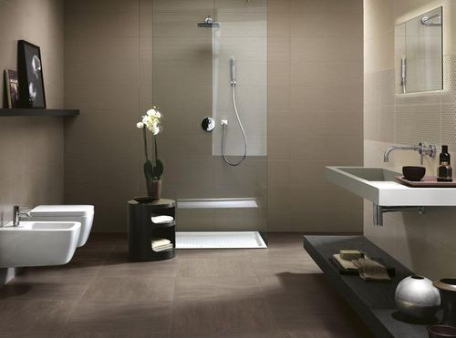Дизайн ванной в сером цвете: особенности оформления, фото 4
