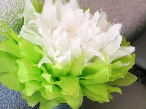 Как сделать цветы своими руками из салфеток