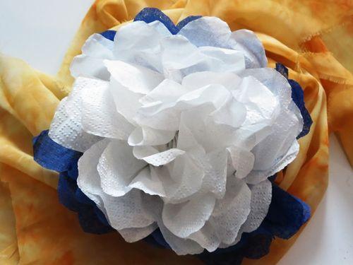 Поделка своими руками цветы из салфеток