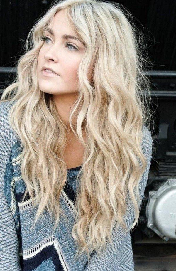 Блонды фото цвета волос