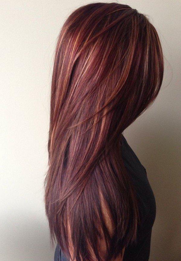 Цвета и оттенки волос