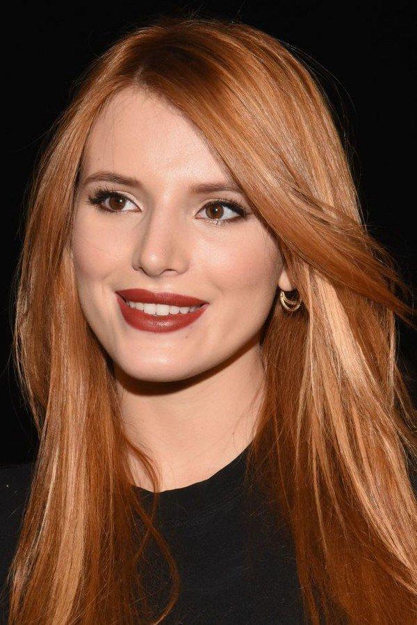 Рыжеватые оттенки волос