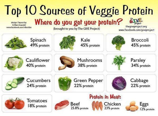 Белковая пища растительного происхождения