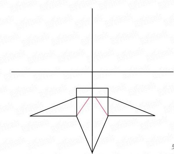 Рисунки крест поэтапно