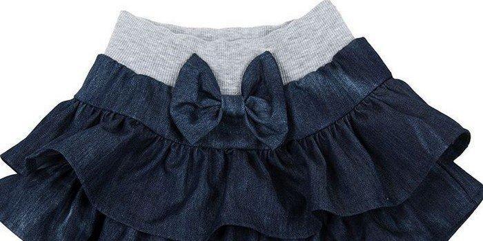 Сшить атлас юбка девочке