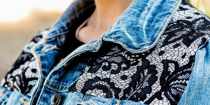 Украсить джинсовую куртку своими руками
