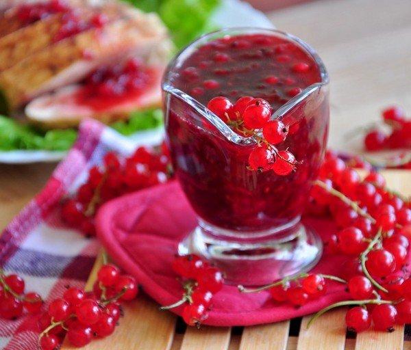 рецепт желе из красной смородины в мультиварке