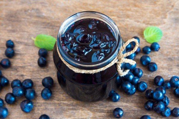 рецепт варенья из черники в сиропе