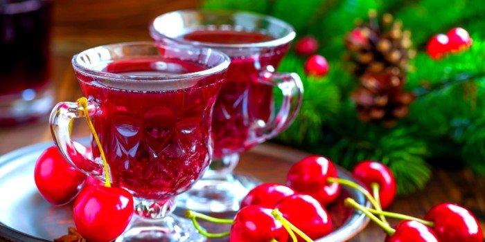Рецепт вина из вишни с косточками