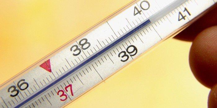 Сон температура на градуснике
