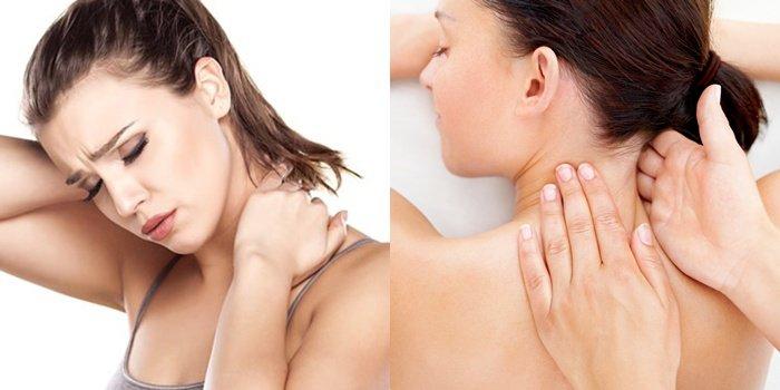 Болит шея отдает в ключицу и в затылок