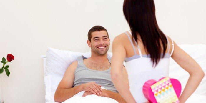 Сделать мужчине секс сюрприз