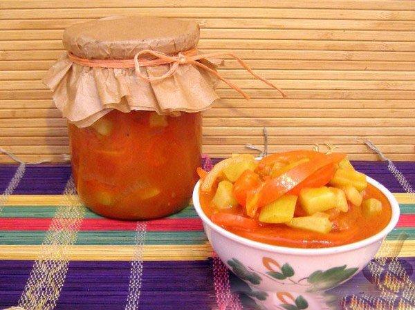 Перцы с медом на зиму рецепты с фото