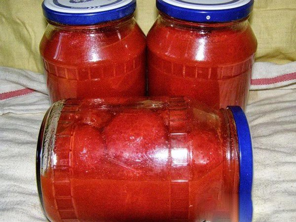 помидоры в собственном соку пошаговый рецепт с фото