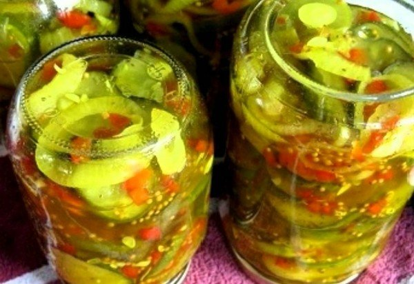 консервация огурцов рецепт