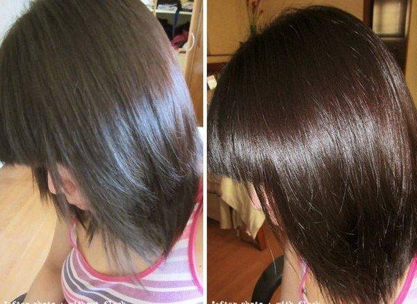 Окрашивание седых волос в блондинку фото до и после