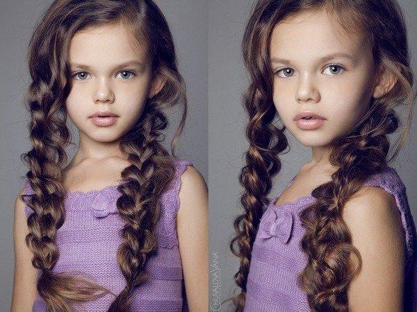 Причёски для средних волос для девочек 15 лет