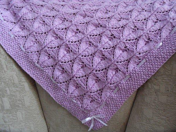 вязание пледа сколько нужно пряжи