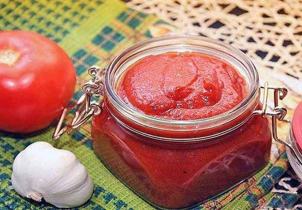 протертые помидоры на зиму рецепты с фото
