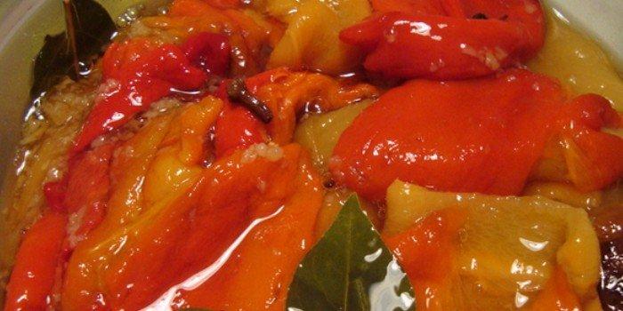 закуска с перцем и помидорами на зиму