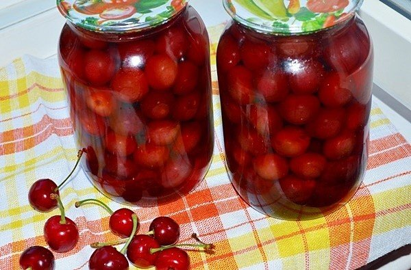 Закатать вишни рецепт