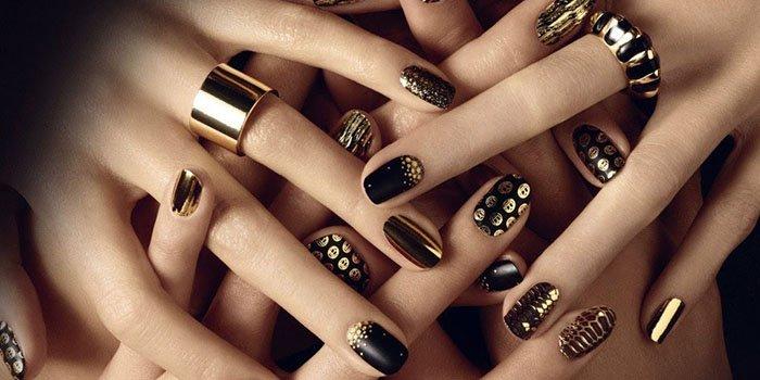 Маникюр на нарощенных ногтях – фото актуальных вариантов дизайна