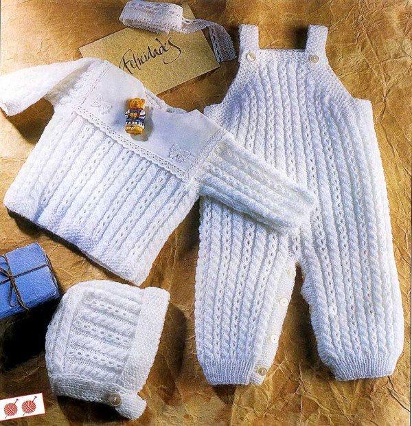 Схемы вязания спицами для детских вещей 27