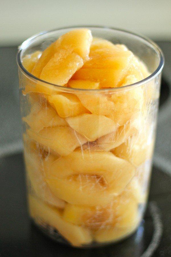 Яблочное пюре в блендере рецепт пошагово