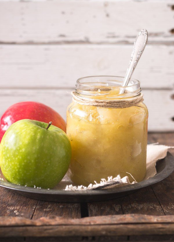 Яблочное пюре с сахаром на зиму в домашних условиях
