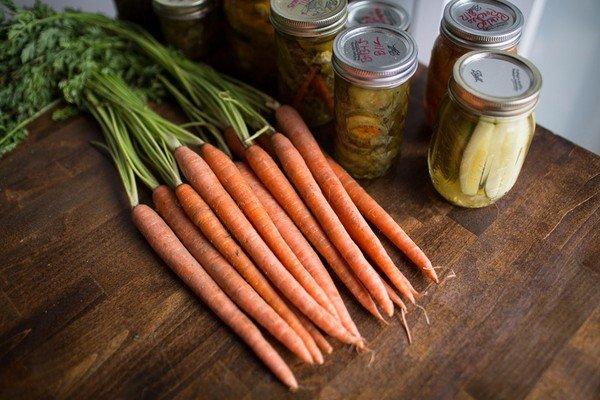 морковь с чесноком на зиму рецепты очень вкусно
