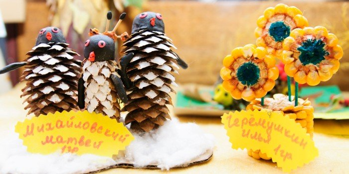 Осенние поделки своими руками на праздник 48