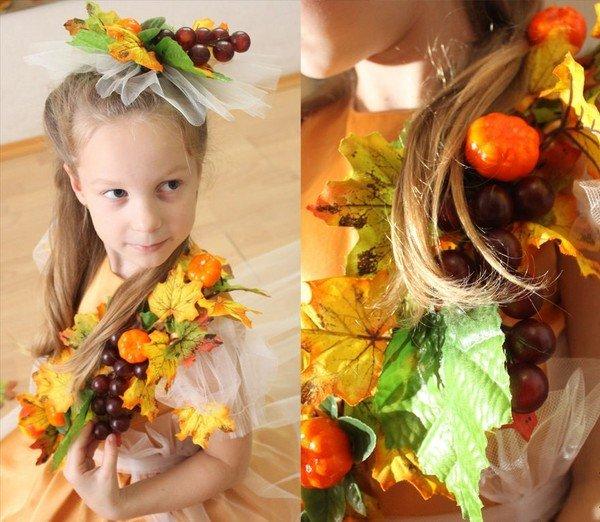 Осенние костюмы на осенний бал своими руками 815