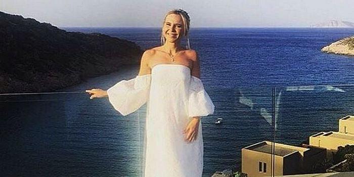 беременная пелагея фото свадьбы