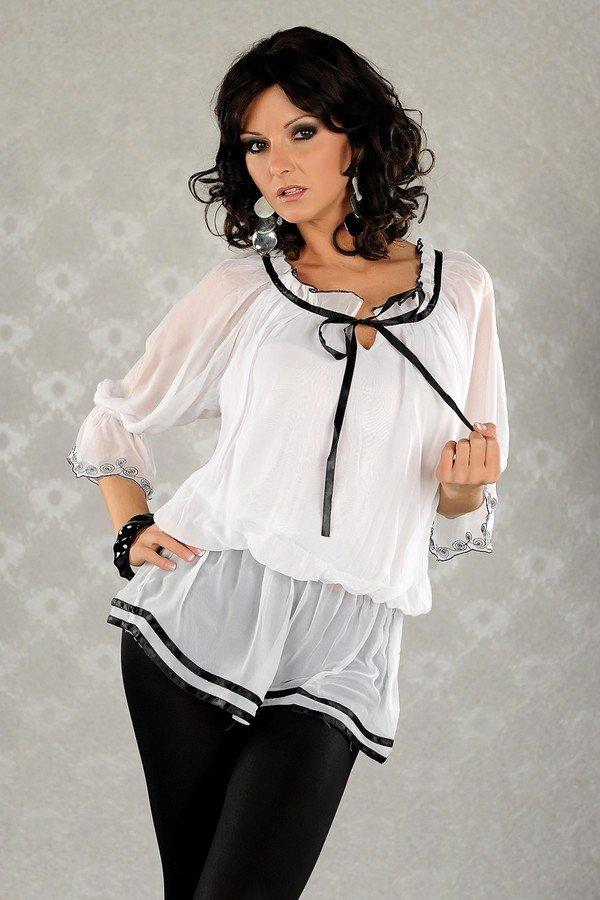 Красивые Белые Блузки