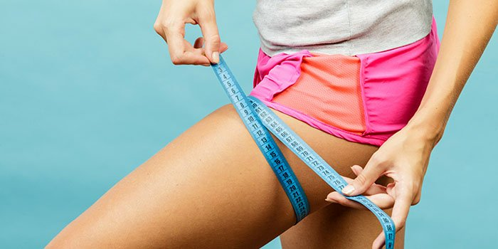 Как похудеть в бедрах без физическких упражнений