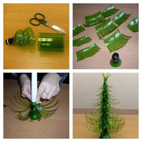 Поделки своими руками из пластиковых бутылок средств в домашних условиях