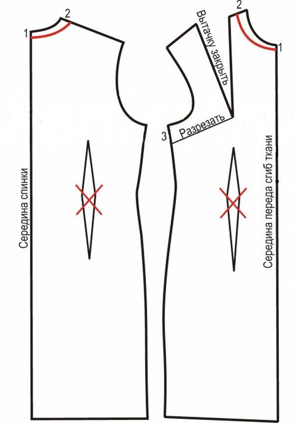 Выкройка Платье Трапеция Пошаговая Инструкция - фото 4