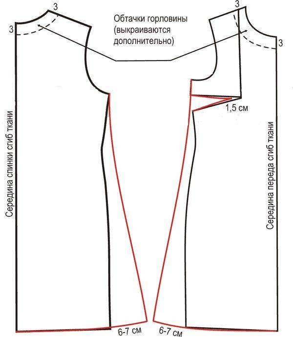 Выкройка Платье Трапеция Пошаговая Инструкция - фото 5