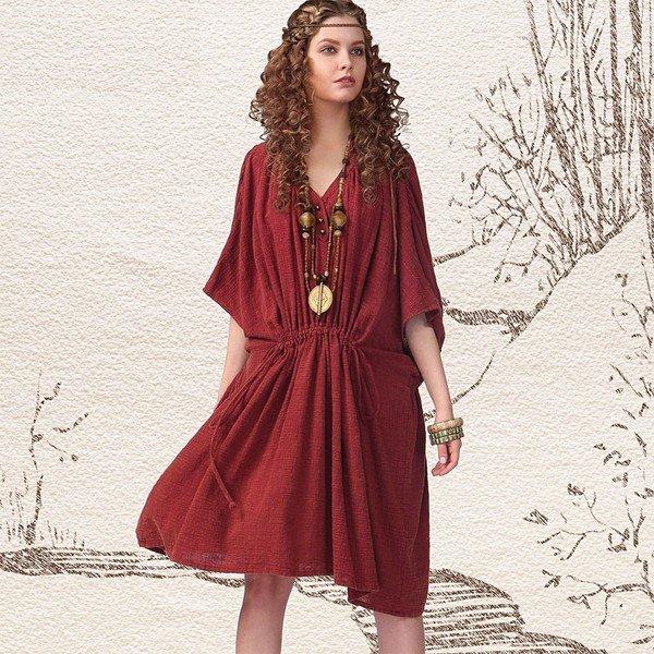 Модели и выкройки платьев в стиле бохо