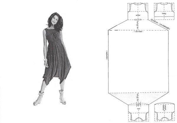Платье летучая мышь своими руками фото 381