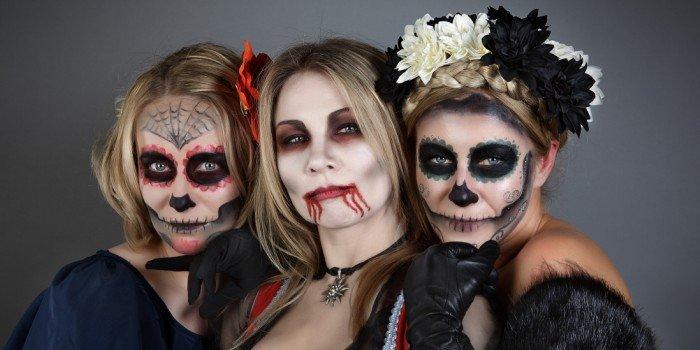 Хэллоуин страшные маски своими руками