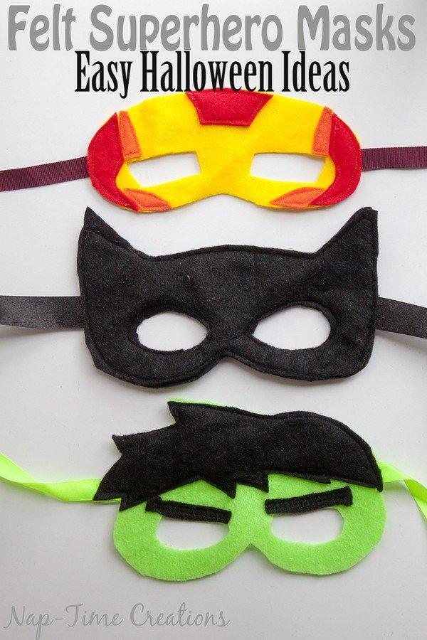 Как сделать маска своими руками для мальчика