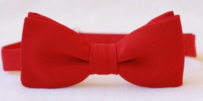 Красный галстук своими руками 94
