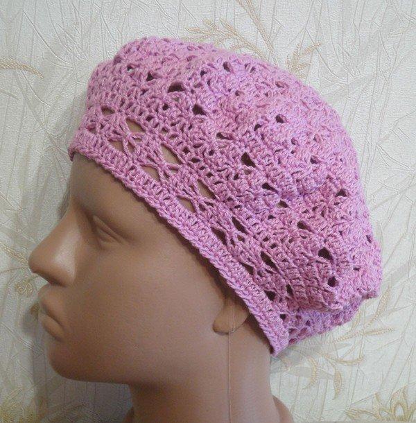 Фото шапочек вязанные спицами