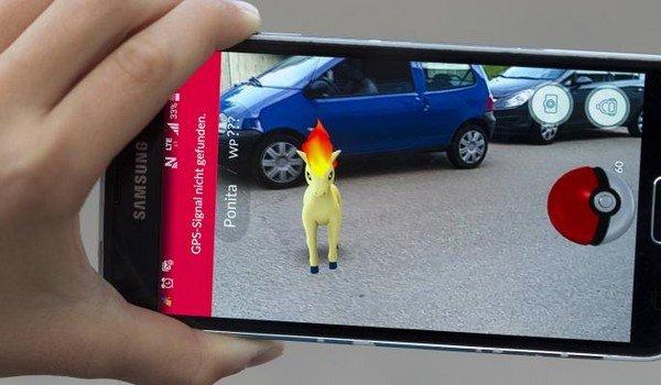 Игра на андроид ловить покемонов