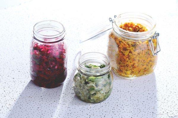 салат на зиму из цветной капусты без уксуса